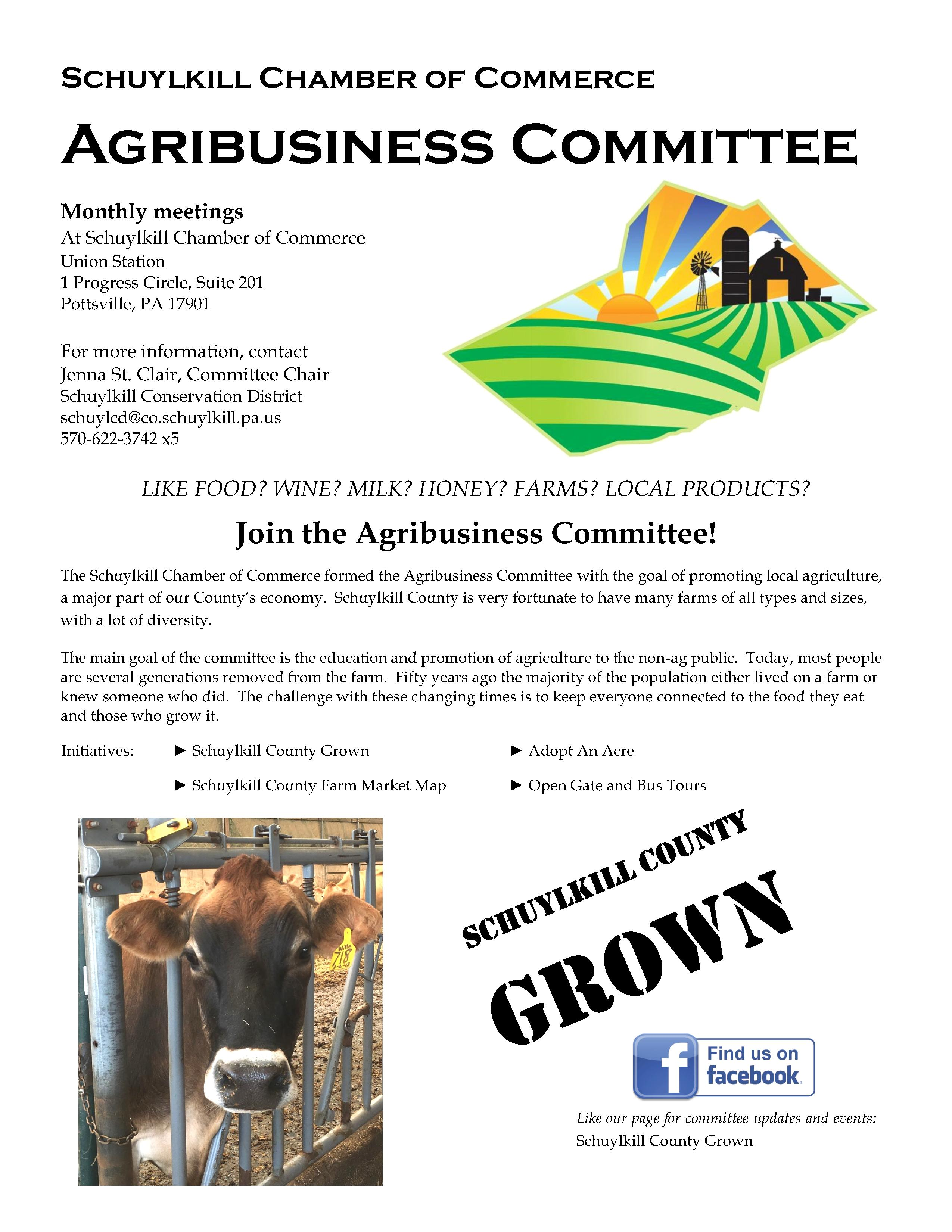 Agribusiness committee flyer